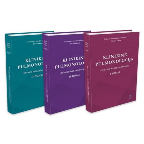 Klinikinė pulmonologija 2021 (I, II, III tomai)
